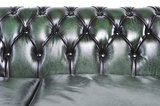 Chesterfield Sofa Original Leather | 6-seater  | Wash Off Green | 12 years guarantee_