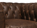 Chesterfield Sofa Vintage Leather | 1-seater  | C0869 | 12 years guarantee_