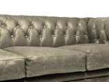 Chesterfield Sofa Vintage Leather | 1 + 1 + 3 seater  | Alabama C1057 | 12 years guarantee_